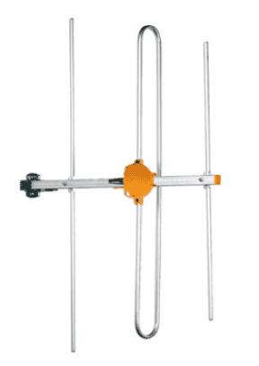 Antenna BIII 3 el. con connettore F G 8dB A/R 15dB
