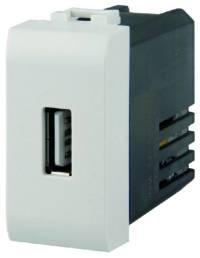 PRESA USB 2.1A COMP.VIMAR PLANA BIANCA