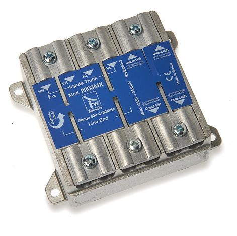 Multiswitch a matrice 4 x 4 terminale -2 dB