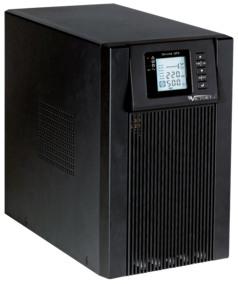 Gruppo statico di continuità 1KVA/800W mono-monofase ON-LINE a doppia conversione conforme alla normativa CEI-016
