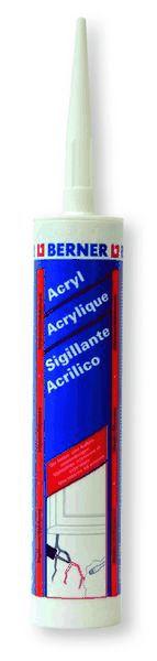Silicone acrilico verniciabile Bianco 310 ML