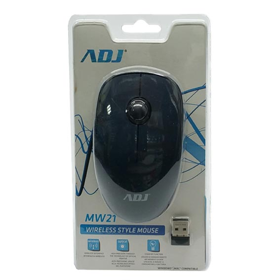 MOUSE MW21 WIRLELESS STYLE MOUSE