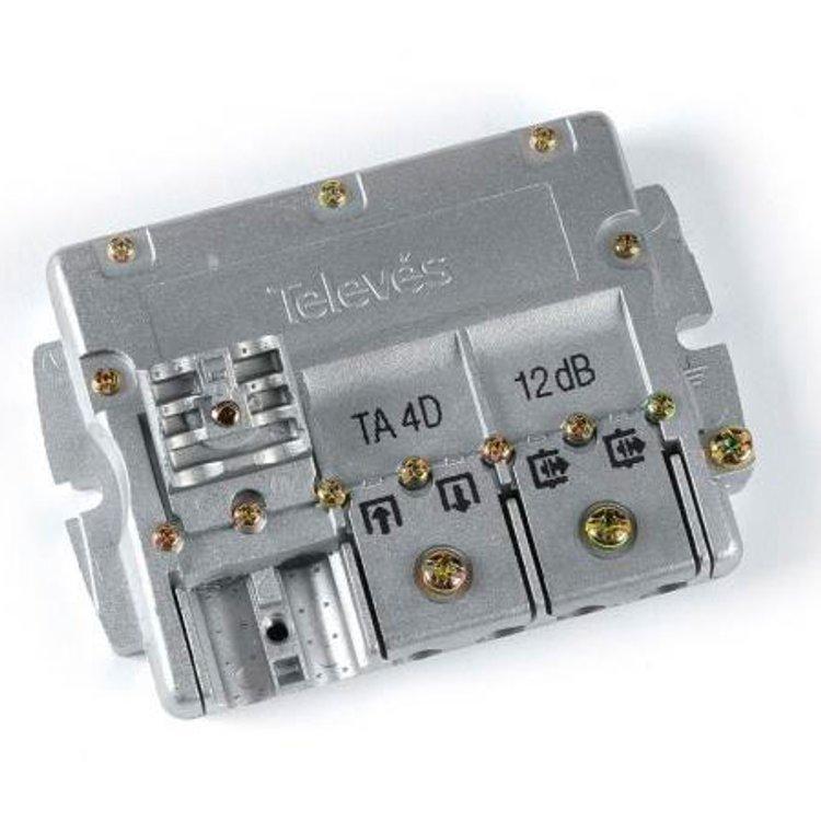 Derivatore 4 vie 5:2400MHz Easy F 12dB Televes