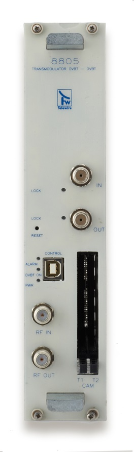 Transmodulatore COFDM/COFDM 2 input + 2 Slot per CAM