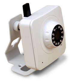 Ip Camera Wifi da interno IR Led, Audio bidirezionale Slot MicroSD