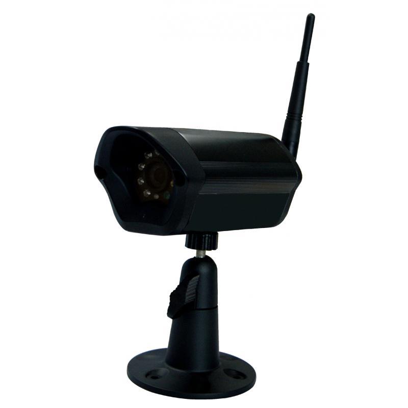 IP Camera WiFi / LAN da esterno IP66 Ottica fissa 3.6mm IR10mt Slot MicroSD Audio Bidirez.