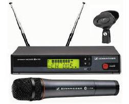 Kit Microfono EW500 740-772 + Ricevitore Base EM300 740-772MHz