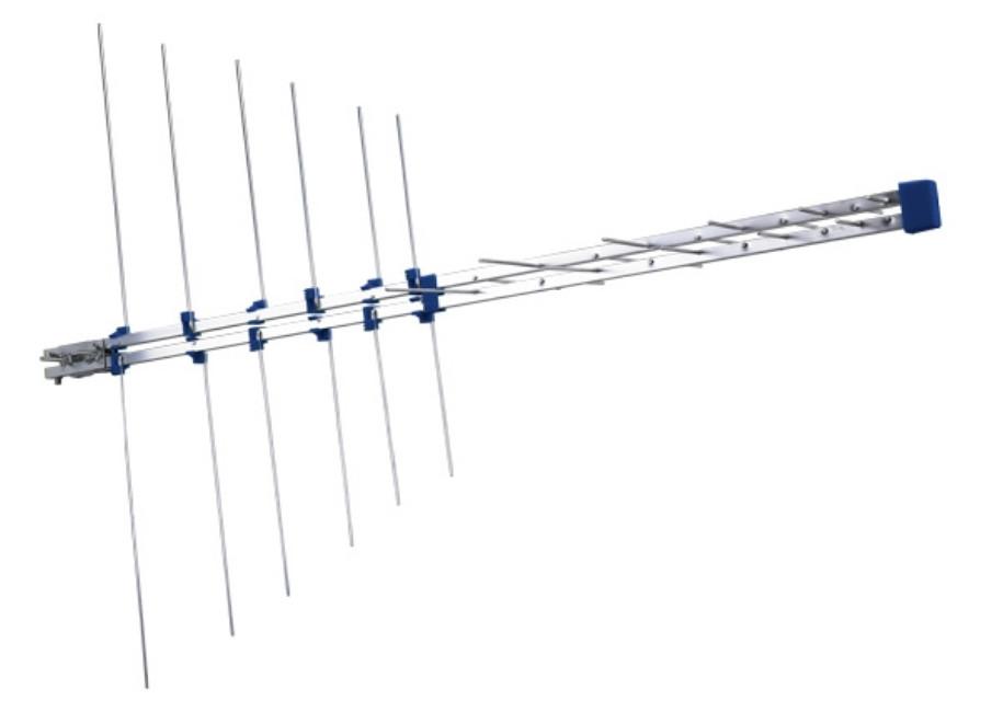 Antenna BIII-IV-V 16el. 9.5dB 75 Ohm D.P.
