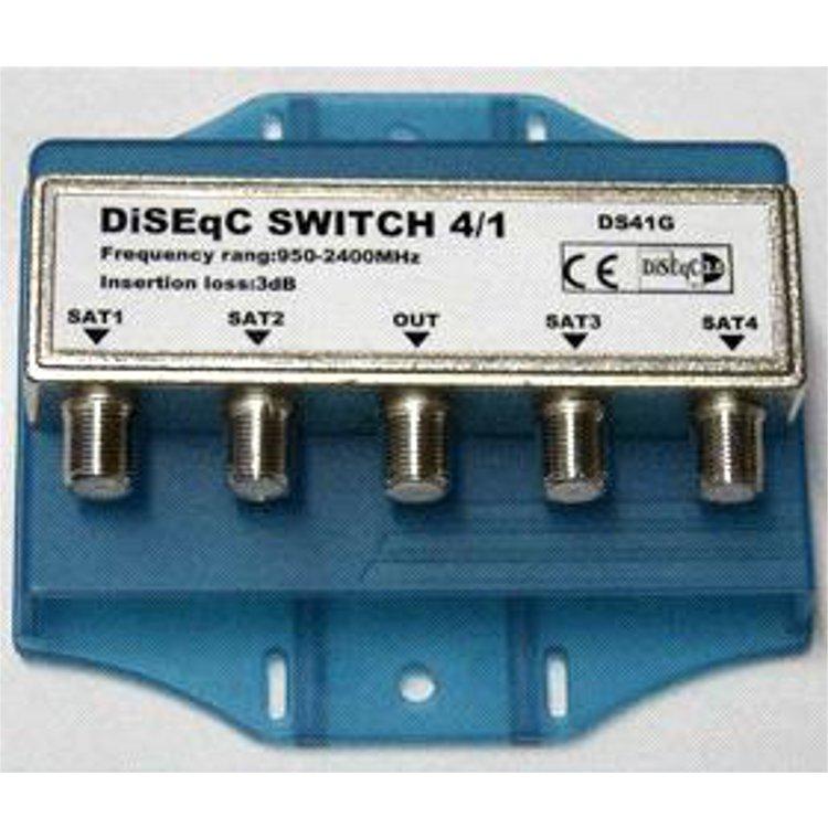 Switch DiSEqC 1.0 per 4 LNB esterno