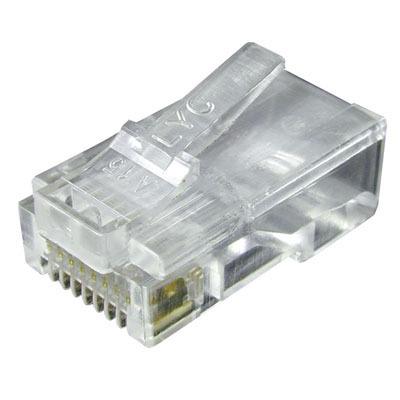 Plug RJ45 x cavo UTP Cat 5E
