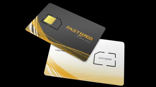 Sim FASTWEB Voce Dati con Numero Telefonico 4G