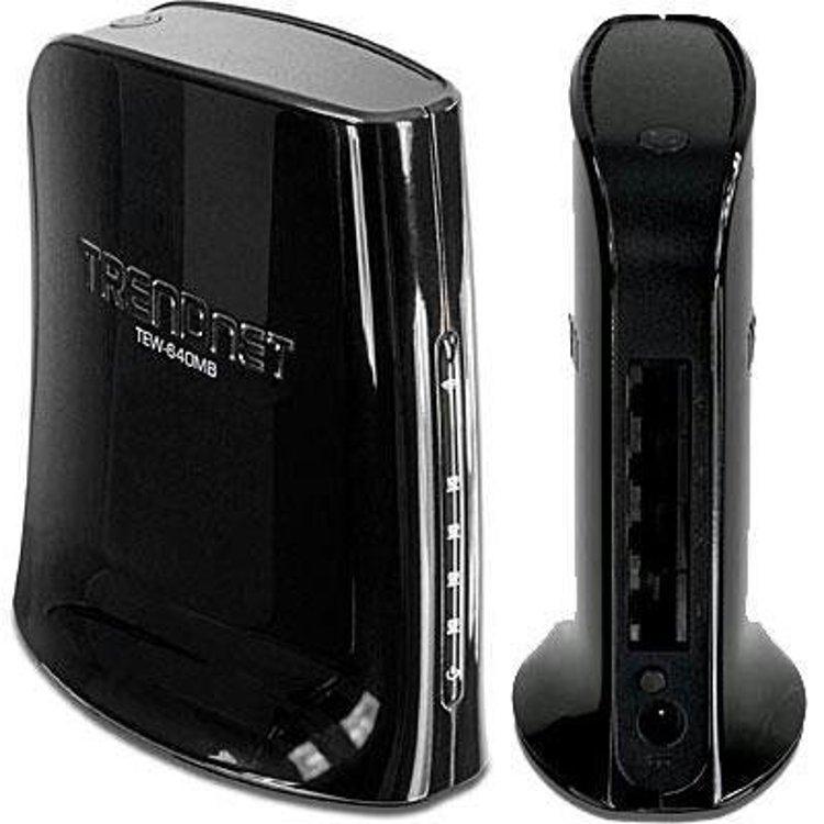 AP Client WiFi 300n 4 LAN Black