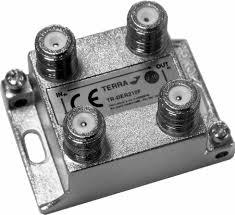 Derivatore 2 Vie 5:2400MHz F 14dB
