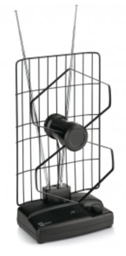 Antenna amplificata da interno per DTT