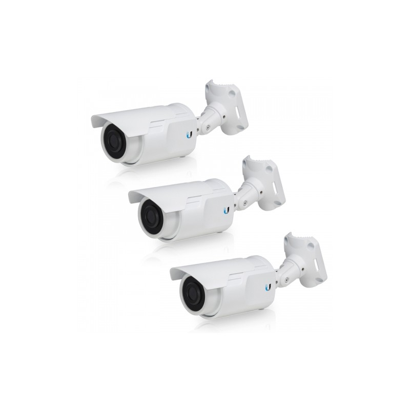 IP Camera Bullet 1,3MP 720p Wall e Pole mount 3- Pack