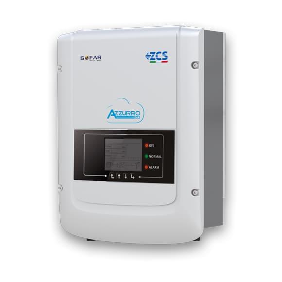Inverter ZCS 6000TLM-WS Sezionatore DC e Wifi integrati