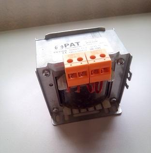Trasformatore 230-230 V senza schermo elettrostatico 150VA