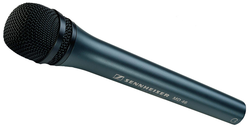 Cardioid Handheld Dynamic ENG Microphone MD46