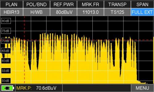 Opzione per strumento Rover HD TAB 700 PLUS per misura Wide Band