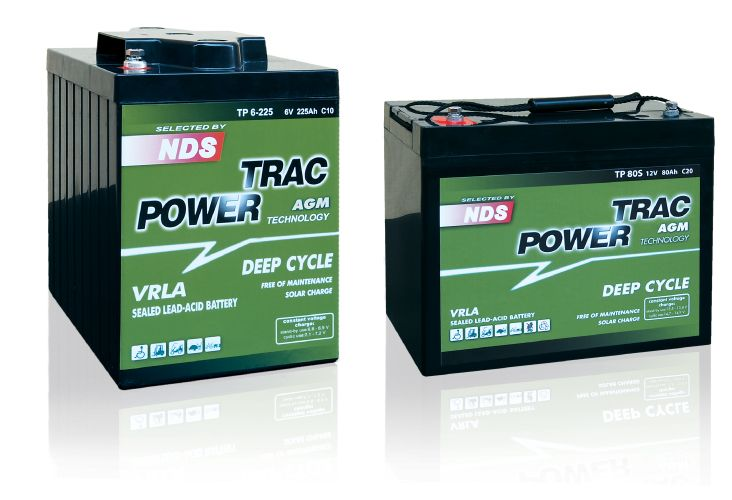 BATTERIA TRAC POWER 12V-60ah