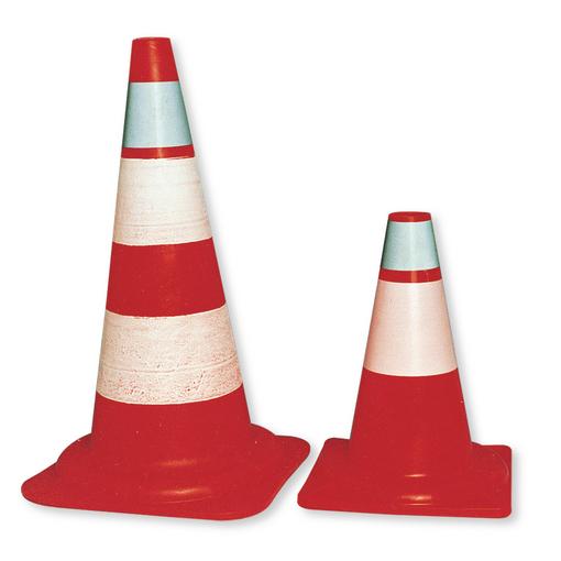 Cono segnaletico per lavori stradali