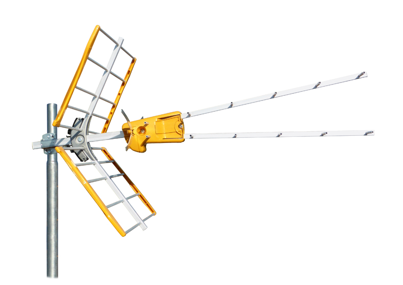 Antenna UHF DAT-HD BOSS V Zenit LTE con CSG (58/59/60) G15dB A/R 23dB