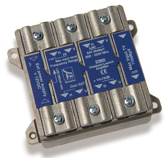 Amplificatore HV/HV di testata autoalimentato +14dB