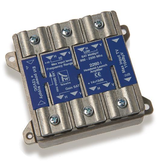 Amplificatore HV/HV intermedio con alimentazione da montante +14dB