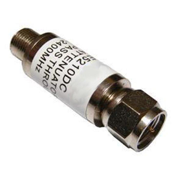 Attenuatore di linea 12dB 5:2400 MHz DC PASS