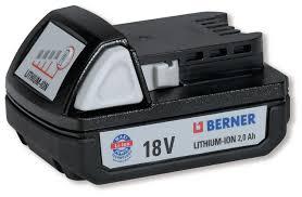 Batteria 18V. BBP 5,0AH, LI-ION, CARTON