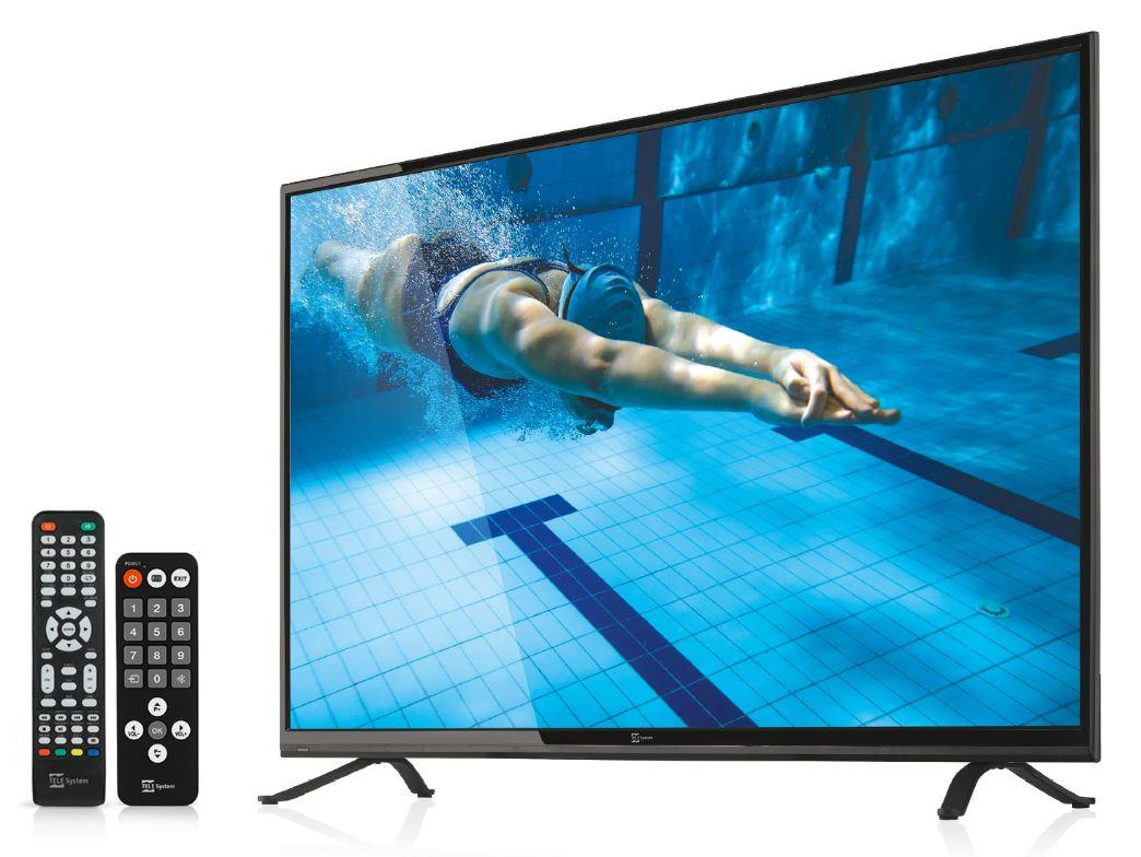 TV LED HEVC digitale terrestre e satellitare da 32 pollici