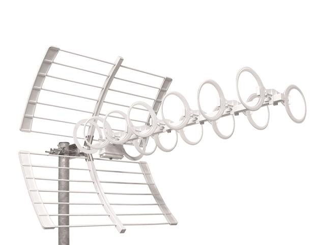 Antenna UHF 21:60 29el G: 12:15dB A/R 28dB 96cm Serie OPTICA