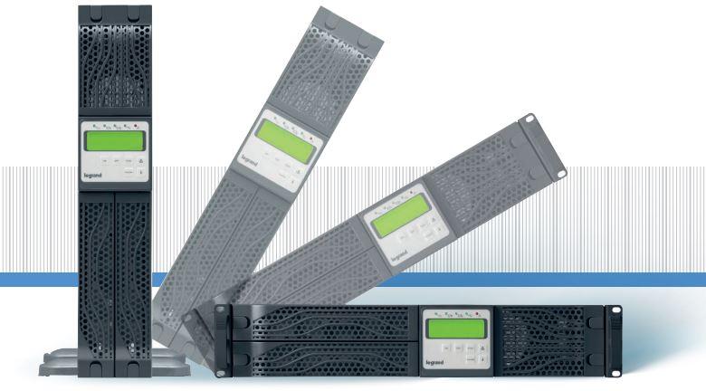 Gruppo di continuità on line doppia conversione MONOFASE serie Daker DK3100 3KVA (2400W) sinusoidale