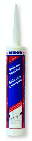 Silicone acetico sigilante bianco 310 ML