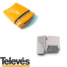 Kit Amplificatore da palo 536041 + alimentatore 12V 579401