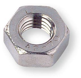Dado esagonale DIN 934 M10 Inox A2 Conf. 100PZ