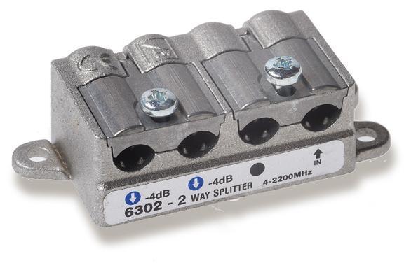 Divisore 2 Vie 5-2400MHz easy F pressofusione PowerPass