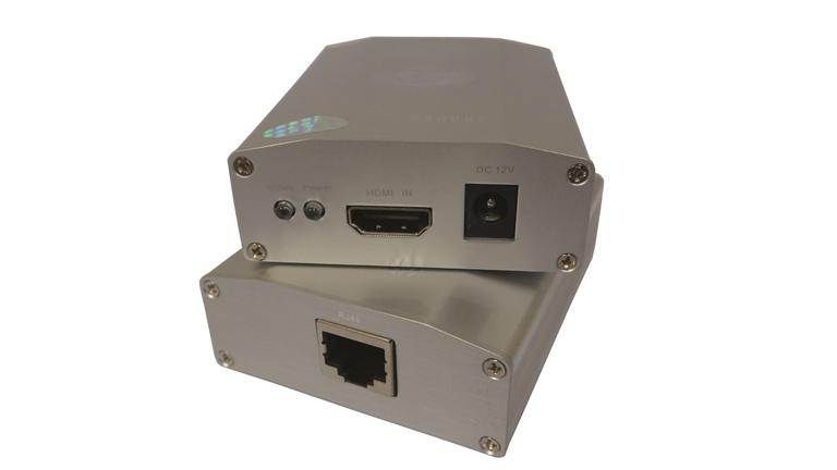 Estensore HDMI su Cat.5/6e max 50m (TX+RX)