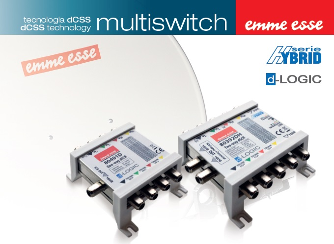 Multiswitch 5IN-2OUT DCSS/LEGACY 16 UBXSCR