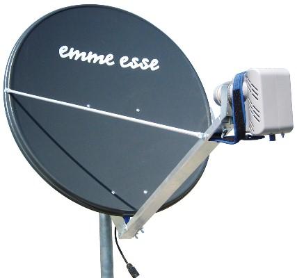 "Antenna parabolica serie ""V Line"" Ø 85 cm – termocoperta 48V"