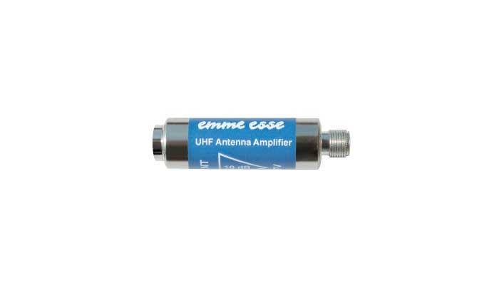 Amplificatore da interno UHF 12dB 12V INN. ANT.