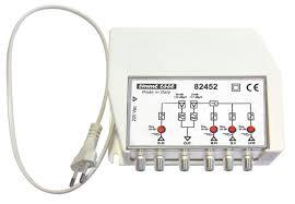 Centralino autoalimentato per mux RAI con filtro passa elimina ch 26-30-40 G:30dB Reg 3IN (CH)(B3)(21:60-CH) Out 115dBuV