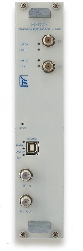 Transmodulatore QPSK/COFDM 2 input