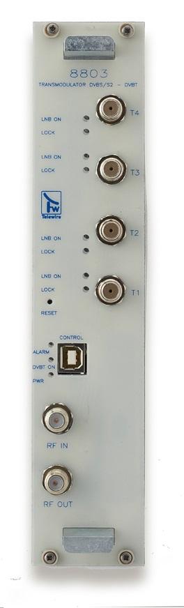 Transmodulatore QPSK/COFDM 4 input