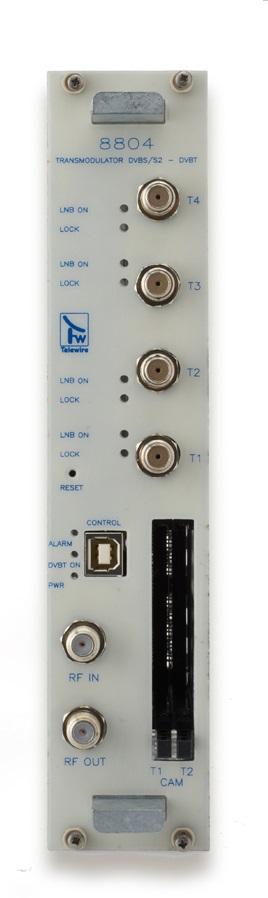 Transmodulatore QPSK/COFDM 4 input + 2 Slot per CAM