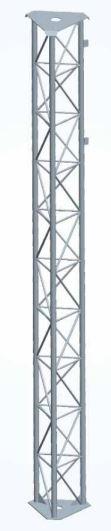 Traliccio triangolare con tubolare 30mm x 3mt Conforme al D.M. del 14/01/2008