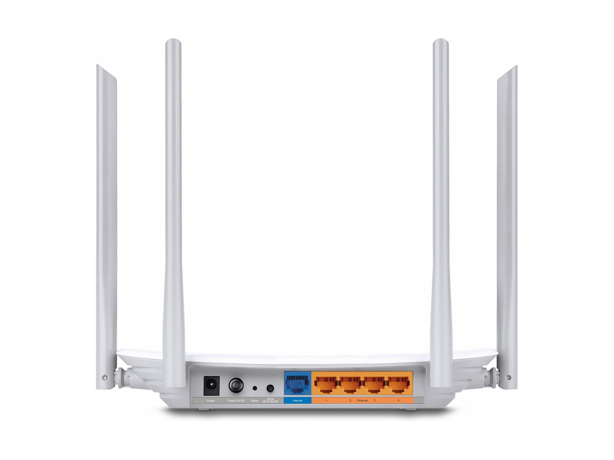 Router Wi-Fi AC1200 con 4 porte LAN Archer C50