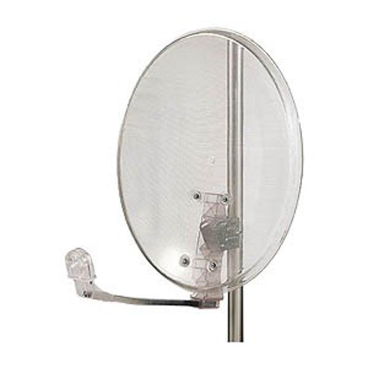 Parabola 60cm OffSet trasparente supp. in acciaio zincato
