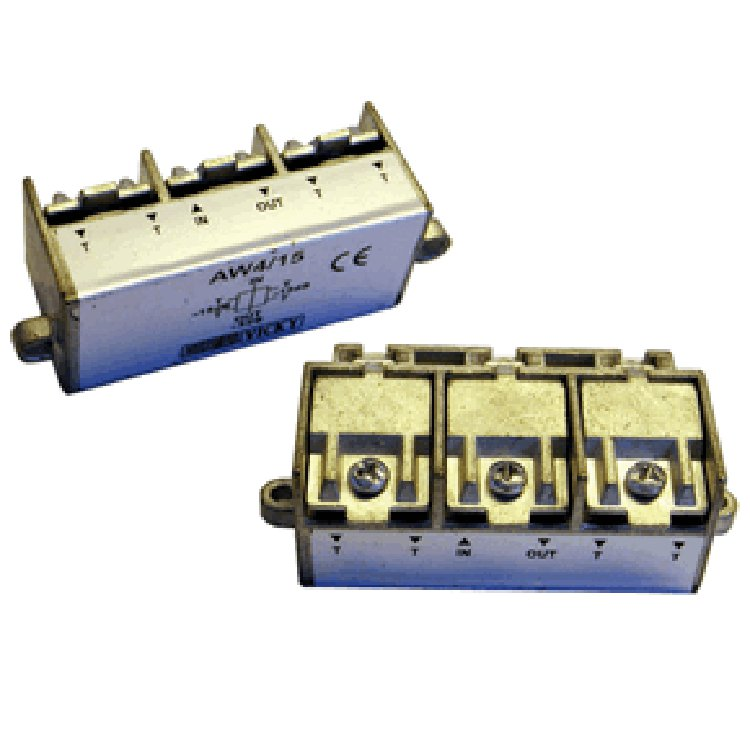 Divisore 3 Vie 5-2400MHz easy F pressofusione PowerPass