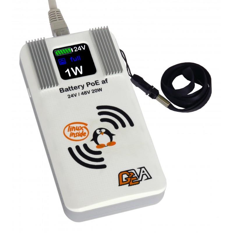 Dispositivo tascabile per allineare e configurare antenne POE, Mimosa, Ubiquiti, MikroTik, Cambium, ecc. 24/48V 17000mA/h